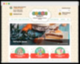 Дизайн сайта на wix для кондитерской