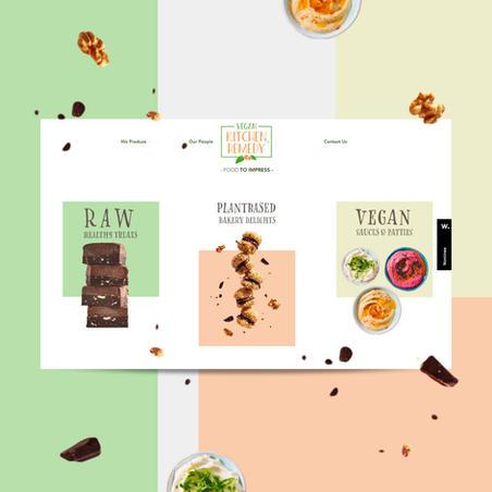 Website design for Food Production