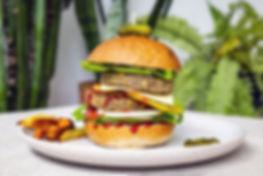 Crispy Lentil Burger Pattie