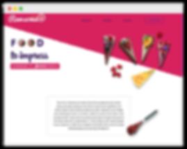Сайт на wix для кулинарной школы
