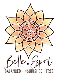 Belle Esprit logo. Health coaching.