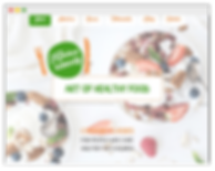 wix website for nutricionist