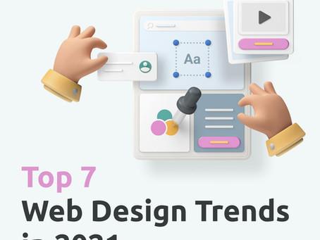 ТОП 7 трендов в Веб дизайне