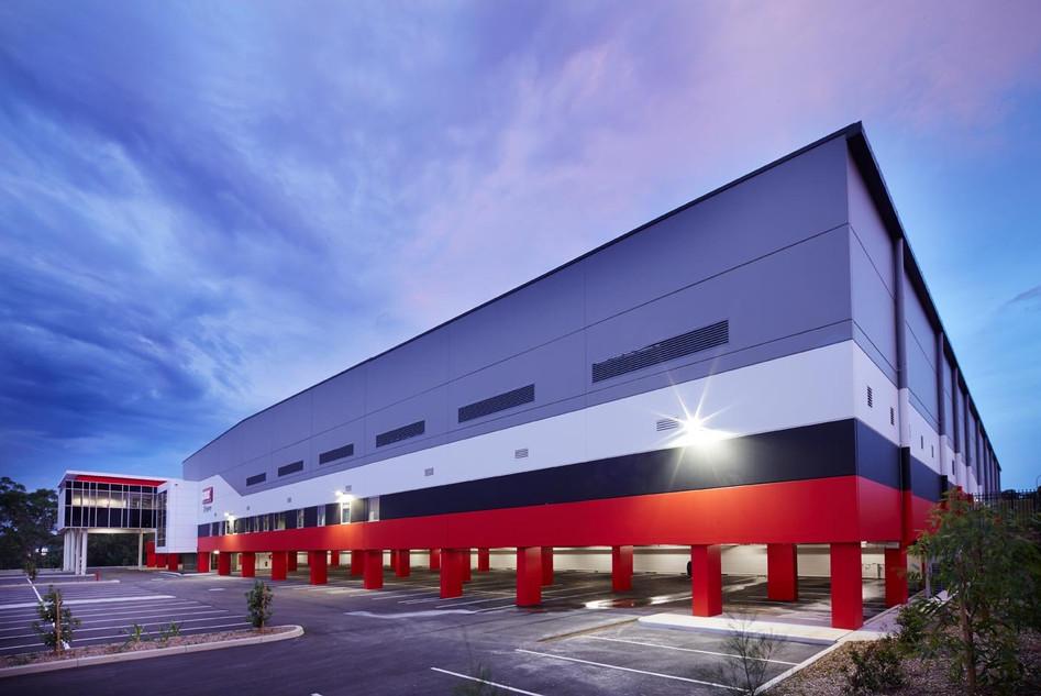 Front Facade Warehouse