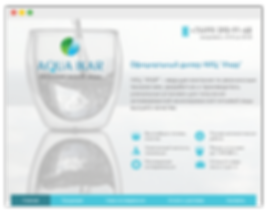 Сайт на wix для домашнего фильтра