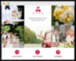 Сайт на wix для свадебного агентства