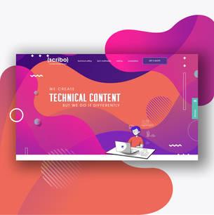 Website design for a copywriter   Israel