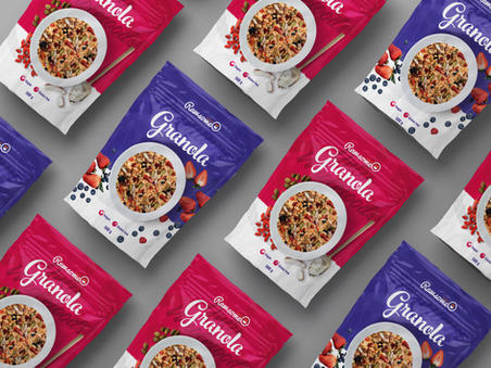 Package design for Granola
