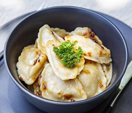Potato and Onion Dumplings