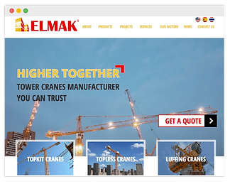crane manufacturer website