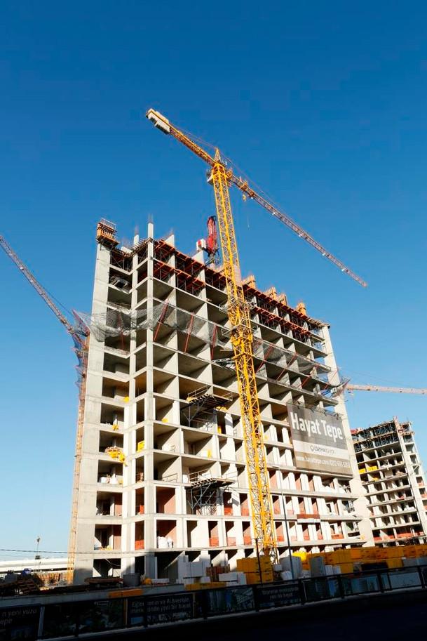 ELMAK CRANES PROJECTS - TOWER CRANES MANUFACTURER