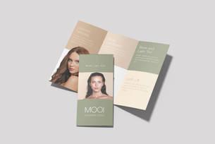 Booklet design for  a beauty salon   Australia