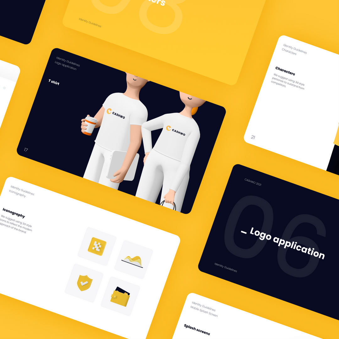 Logo design and branbook for an app