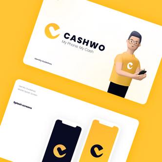 Logo design and branbook for mobile app