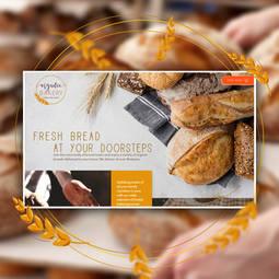 Website design for an organic bakery   Australia