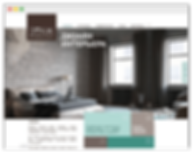 wix website for interior decoration services