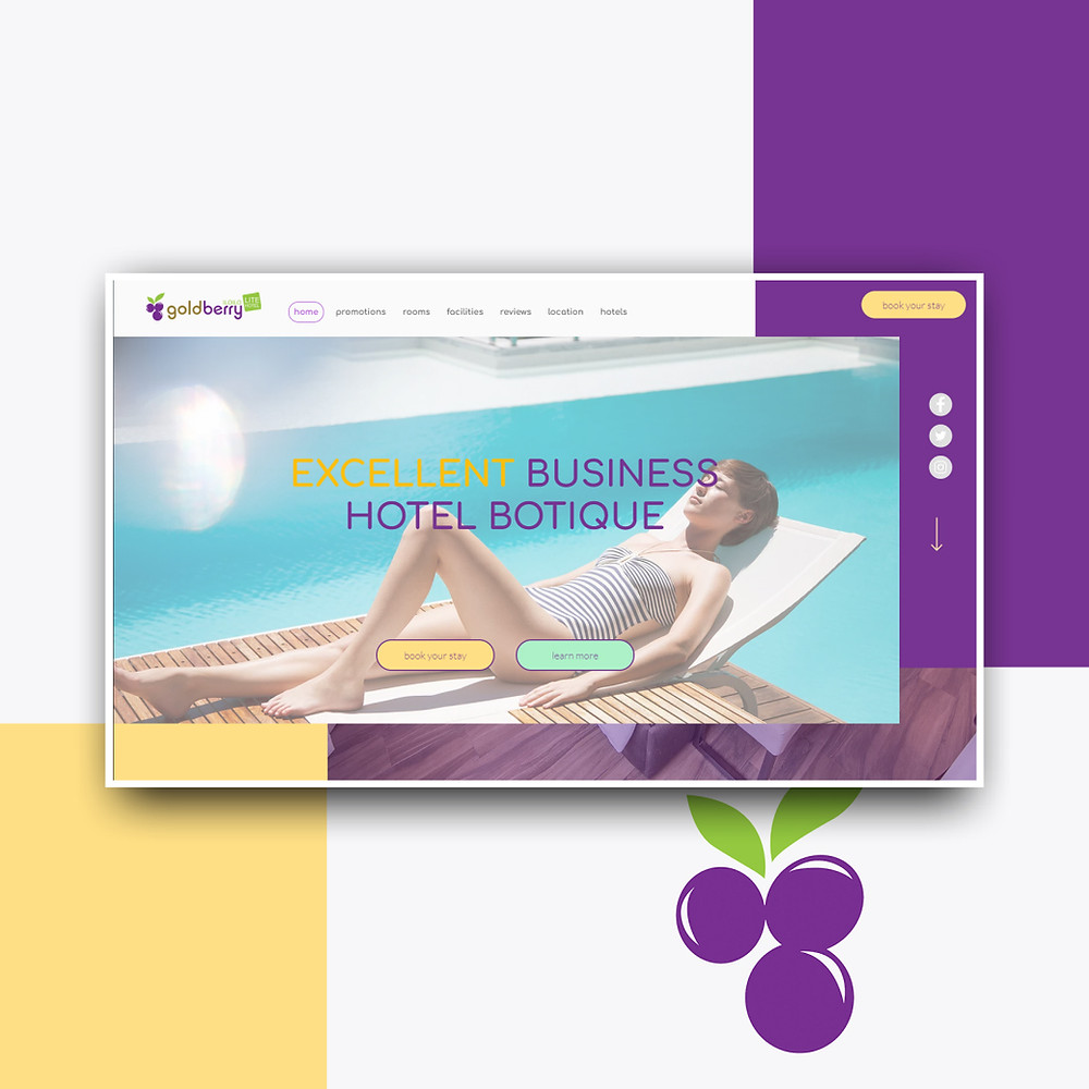 Сайт для отеля на Викс