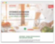wix landing page for food delivery