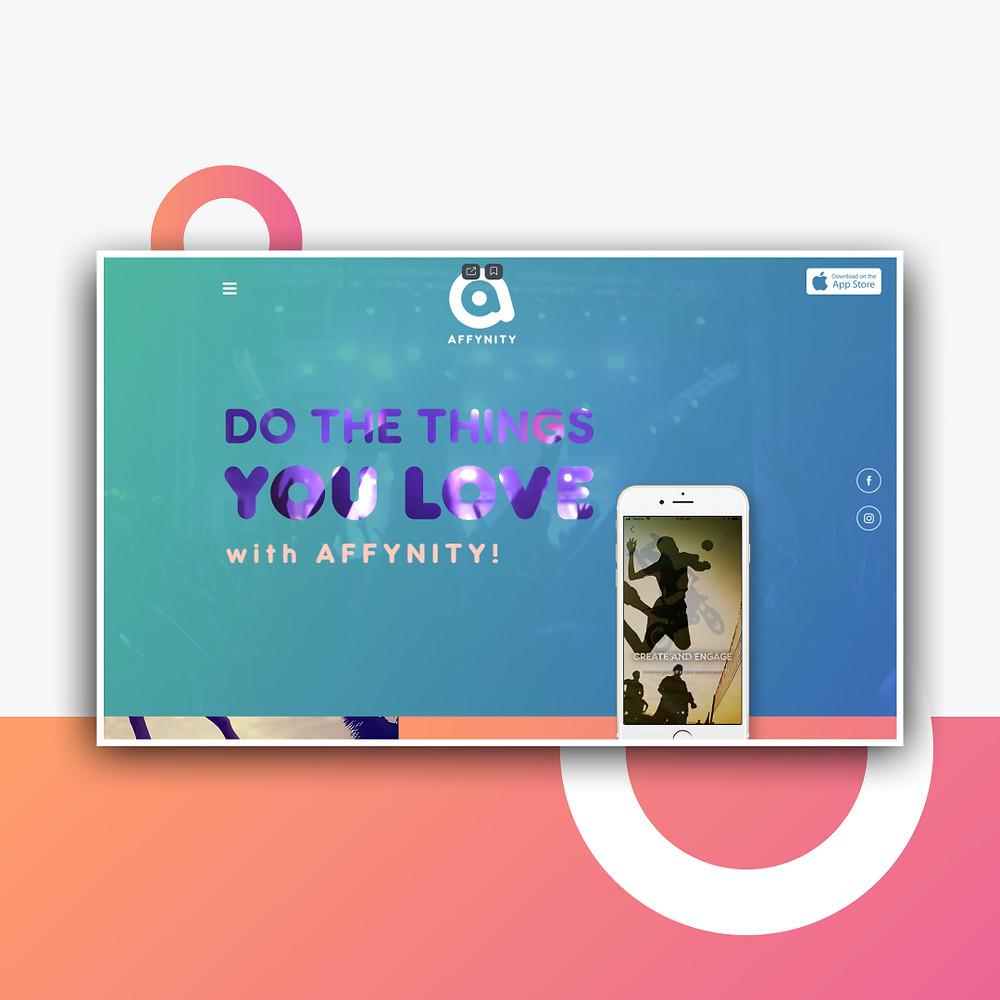 Сайт для продвижения мобильного предложения Wix