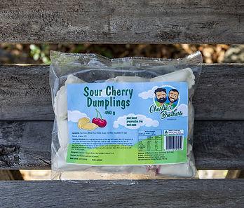Sour Cherry Dumplings