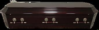 Rosewood solid timber casket