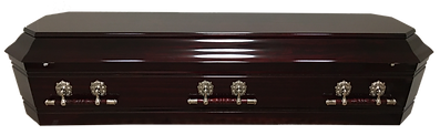 Rosewood solid timber casket