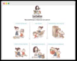 Блог на wix для мам, сайт на wix для автора книги