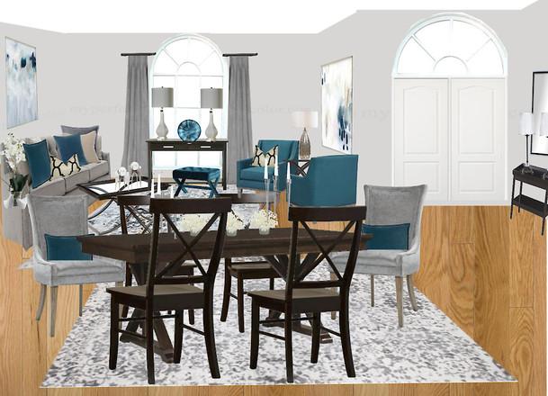 Transitional Living | Dining Room