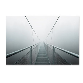 'The Path to Infinity' Photographic Print on Wrapped Canvas