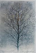 Blue Tree Art
