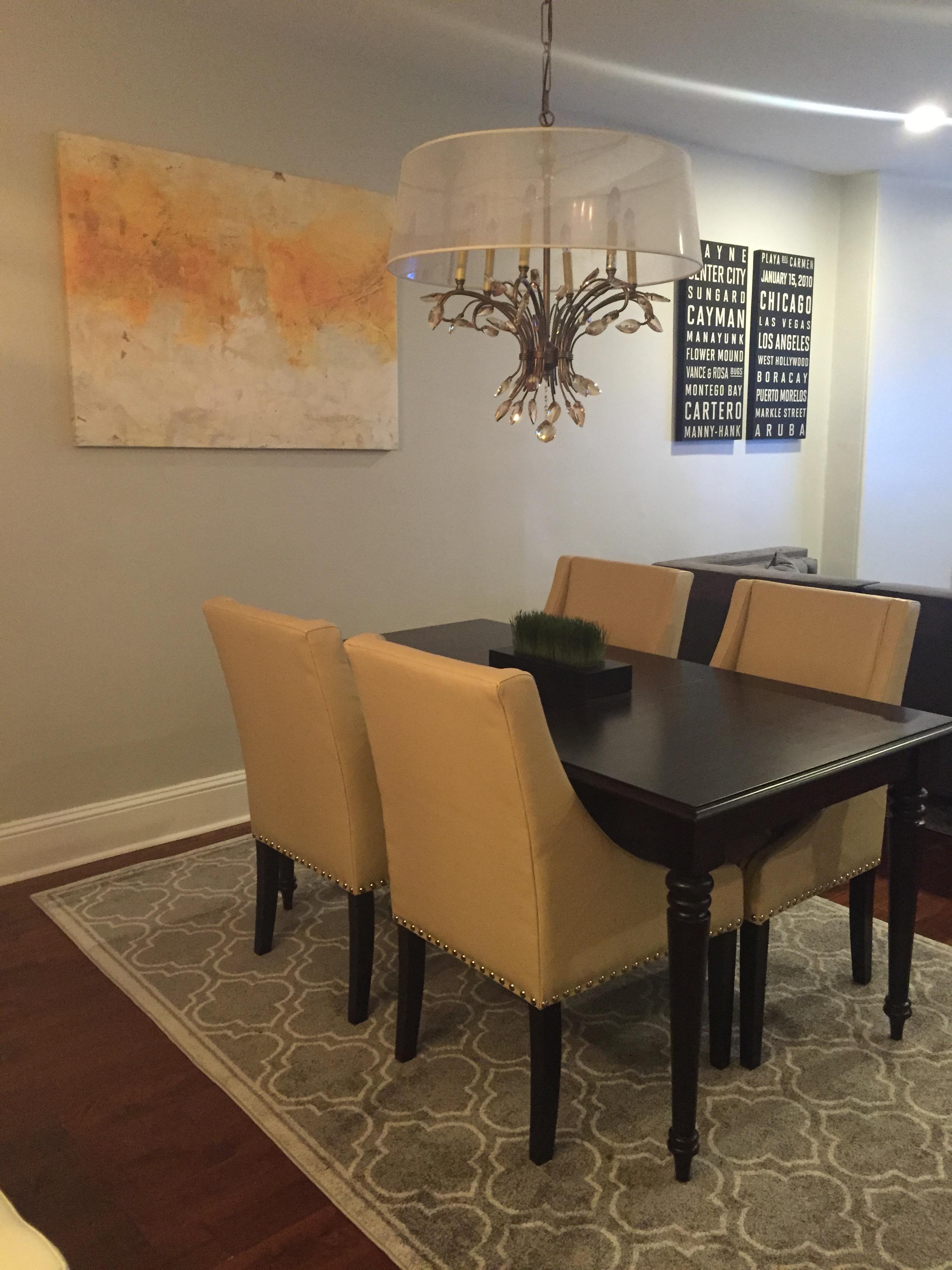 Modern Transitional Dining Room