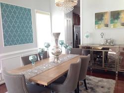 Modern Transitional Dining Room Idea