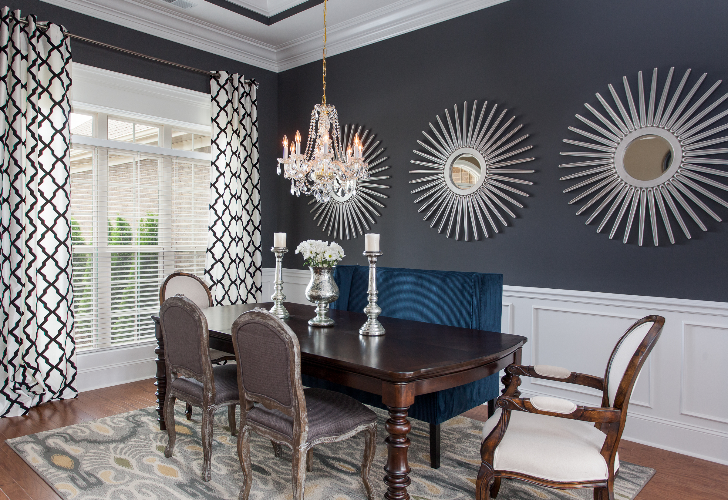 Modern Transitional Dining Room