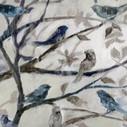 Bird Art Blue