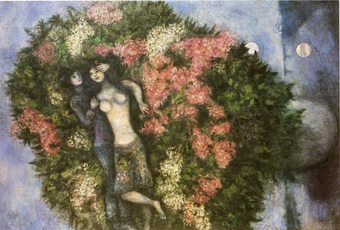 1930. Amantes en las Lilas.
