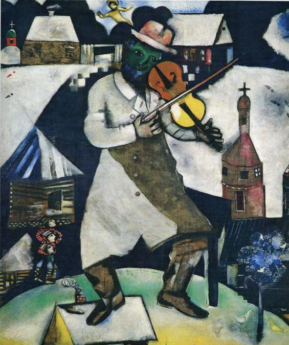 1912-1913. El violinista.