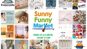 Sunny Funny Market開催!!