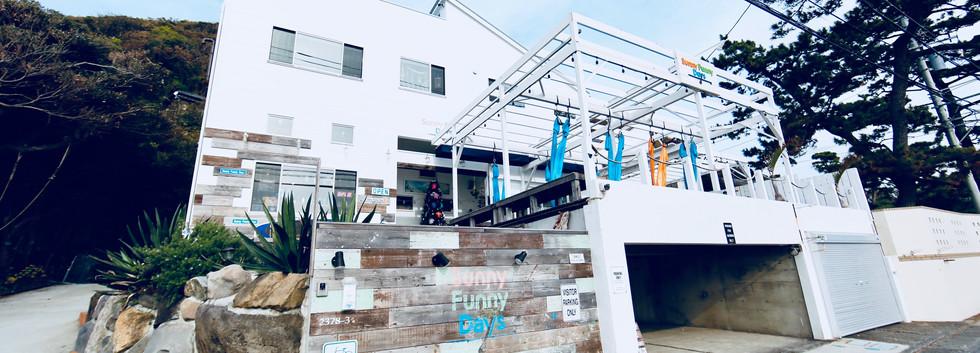 屋外で出来るハンモックヨガスタジオ 葉山