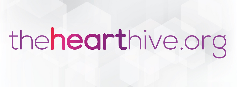 The Heart Hive Typography Image