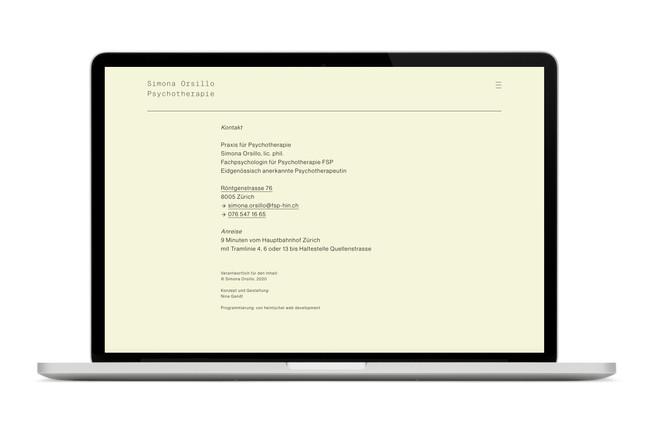 Simonao Orsillo Webseite