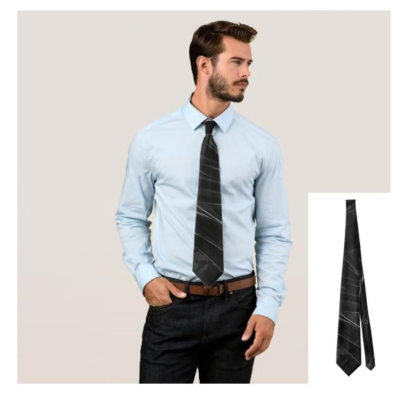 Tie Ocean Black