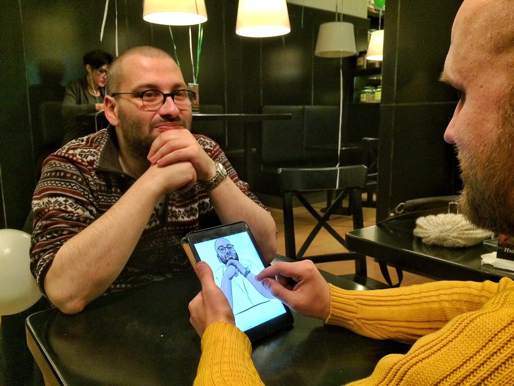 Digital портрет Михаила Либкина