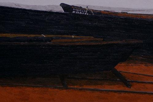 """Алла Полковниченко """"Черные лодки в Юркино"""""""