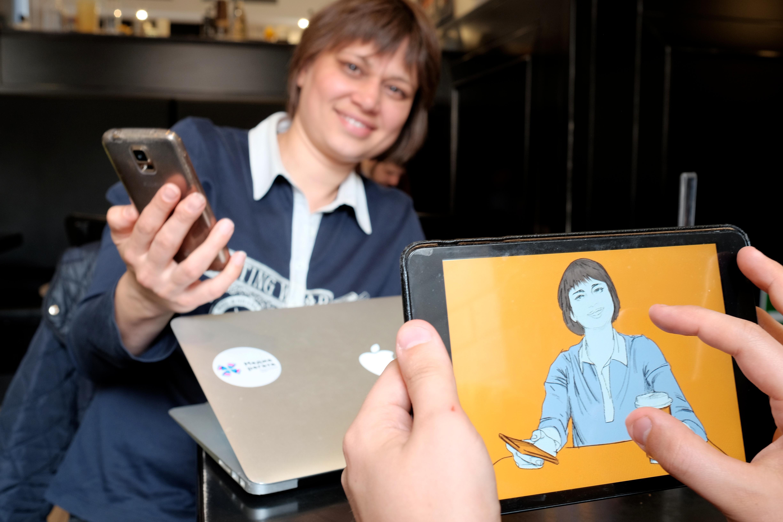 Digital портрет Юлии Раковой