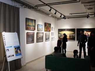 Фото-отчет с открытия нашей дебютной благотворительной выставки