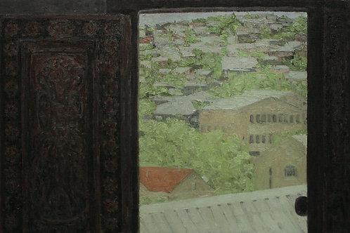 """Алла Полковниченко """"Весна в Ереване. Двери."""""""