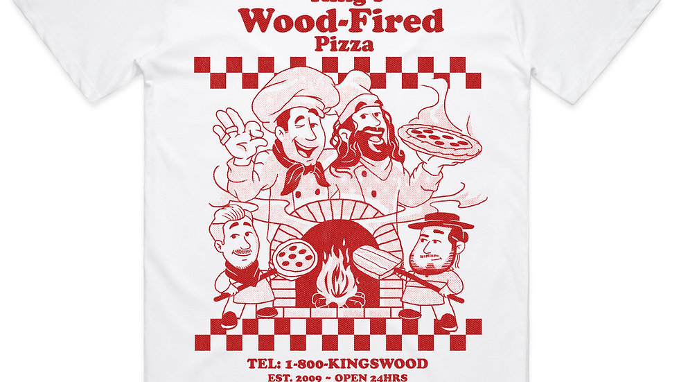 King's Wood-Fired Pizza Tee