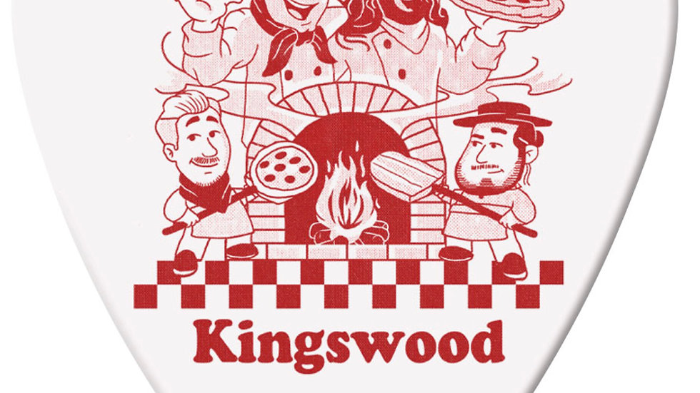 The Kingswood Dunlop Tortex Pizza Pick