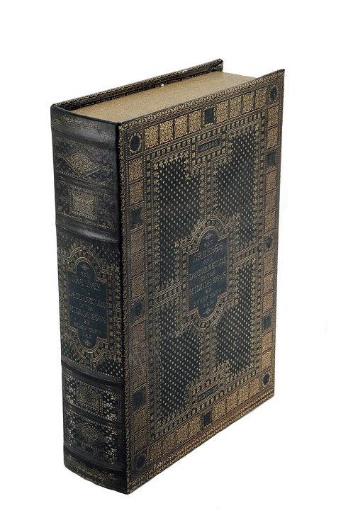 Caja Decorativa Libro Antiguo