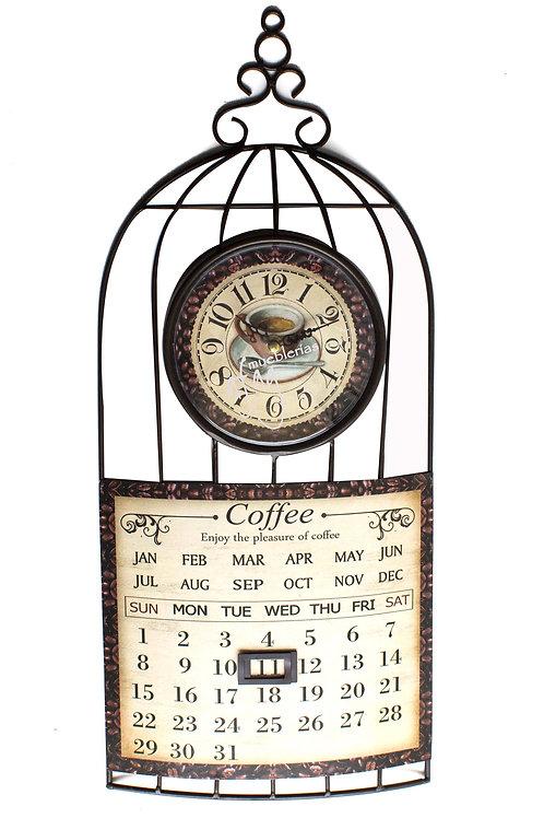 Reloj de Pared Calendario